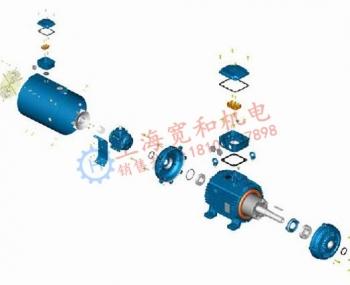 W21 变频电机结构特征